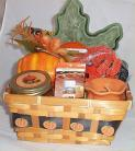 Fragrence Gift Basket Pumpkin Spice Home Candle Oils Leaf Candy Dish Cookie Cutt