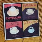 Coffee Trivet Ceramic Tile Cafe Kitchen Chefs New /capp